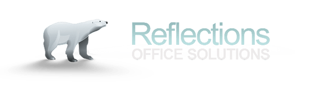 Reflections Office Solutions logo